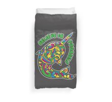 Narwhal Believes in You Duvet Cover