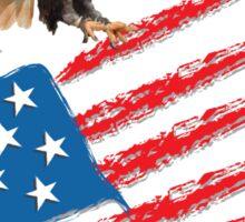 America US Flag Sticker