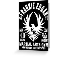 Frankie Edgar Martial Arts Gym Greeting Card