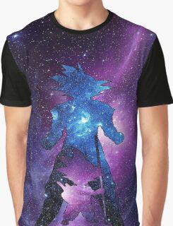 Galaxy Goku Graphic T-Shirt