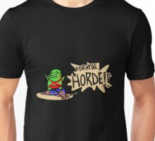 Wow - Orc Beated Human Unisex T-Shirt
