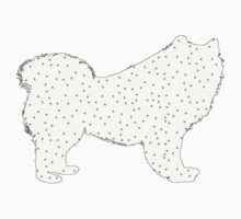 Samoyed One Piece - Short Sleeve