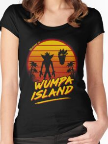 Welcome to Wumpa Island Women's Fitted Scoop T-Shirt