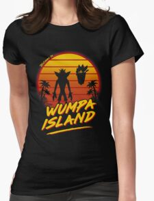 Welcome to Wumpa Island Womens Fitted T-Shirt