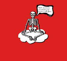 Skelett meditiert Unisex T-Shirt