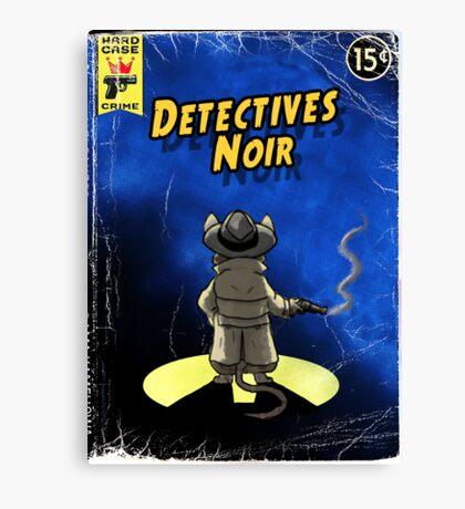 Detectives Noir 1 Canvas Print
