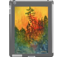 Forest Fire #5 iPad Case/Skin