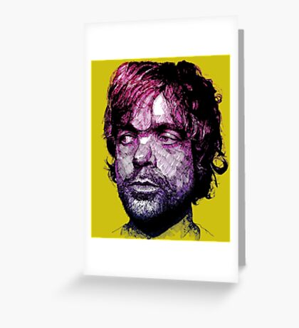 Tyrion Portrait Greeting Card