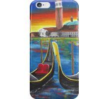 Gondolas at Sunset iPhone Case/Skin