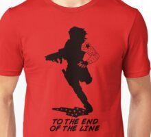 Winter Soldier - End of the Line - Silhouette (B) Unisex T-Shirt