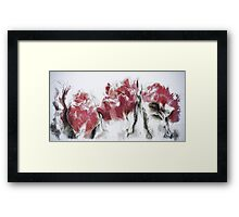 French Country Roses Framed Print