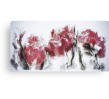 French Country Roses Canvas Print