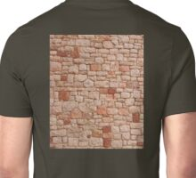 STONE WALL, Rock and a hard Place,  textures, Hit a brick wall Unisex T-Shirt