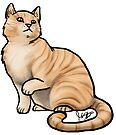 Big Tabby Cat by Jennifer Stolzer