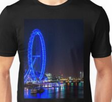 London Skyline at Night Unisex T-Shirt