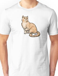 Big Tabby Cat Unisex T-Shirt
