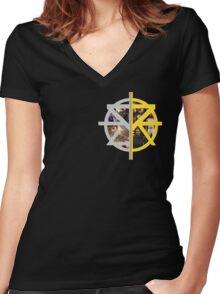 Seth Rollins Women's Fitted V-Neck T-Shirt