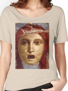 Souvenir from Pompeii - Theatre Mask Women's Relaxed Fit T-Shirt