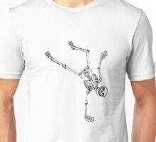 Skelett macht Sport Unisex T-Shirt