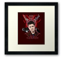Dean Winchester - The Righteous Man Framed Print