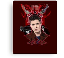 Dean Winchester - The Righteous Man Canvas Print