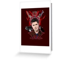 Dean Winchester - The Righteous Man Greeting Card