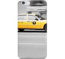 Big Yellow Taxi iPhone Case/Skin