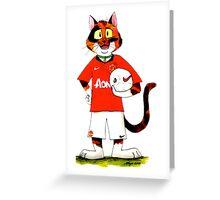 SkyeCatz: Manchester United F.C Cindy! Greeting Card