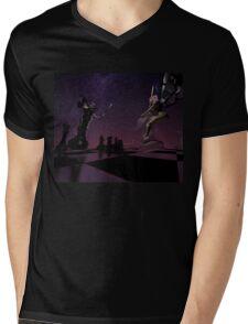 Defiant Queen Mens V-Neck T-Shirt