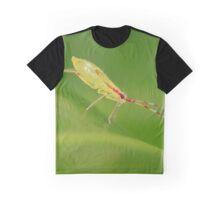Tiny Yellow Bug Graphic T-Shirt