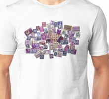 The World in Purple Unisex T-Shirt