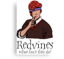 Redvines Canvas Print