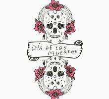 Mexican Day of the death spanish text vector decoration Unisex T-Shirt