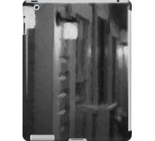 Rainy Night Motel II BW iPad Case/Skin