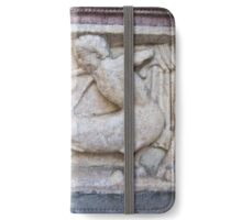 Centaur with bow, hitting an animal iPhone Wallet/Case/Skin
