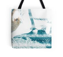 Cow with Bell. Photographed in Tirol, Austria Tote Bag