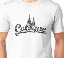 Cologne Classic Vintage Schwarz Unisex T-Shirt