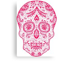 Mexican Day of the death sugar skull, day of the dead  Canvas Print