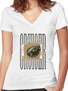 Cruiser - Cougar Women's Fitted V-Neck T-Shirt