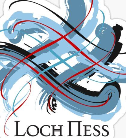 Loch Ness, Scotland  Sticker