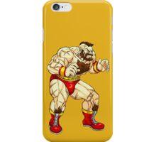 Zangief - russian fighter iPhone Case/Skin