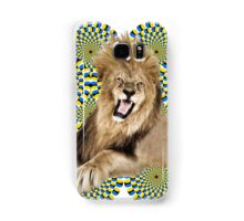Roar Leo optical ilusion Samsung Galaxy Case/Skin