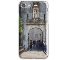 Dubrovnik bridge to entrance of old town.  iPhone Case/Skin