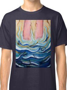 Feet in the Ocean Classic T-Shirt