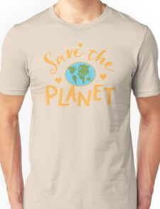 SAVE THE PLANET (hippy edition) Unisex T-Shirt