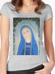 Veena - priestess of Avalon Women's Fitted Scoop T-Shirt