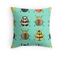 Insects. Throw Pillow