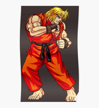 Ken - Hadoken fighter Poster