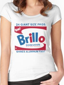 John Squire Warhol Brillo inspired tee Women's Fitted Scoop T-Shirt