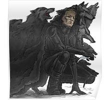 black wolves Poster